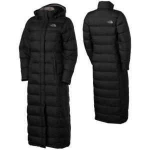 North Face down full length jacket