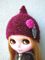 red girly helmet