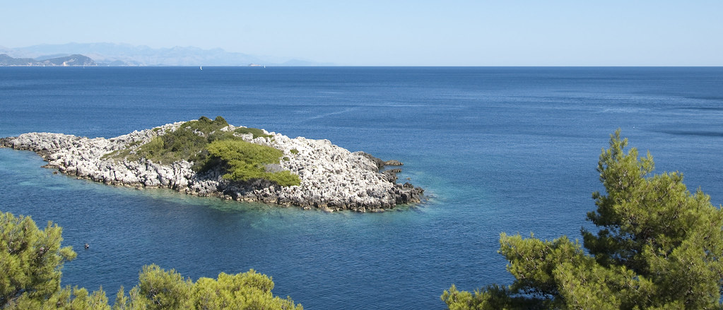 The beautiful idyllic island of Mljet