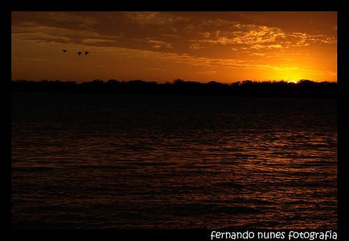 Pôr-do-Sol no Guaíba