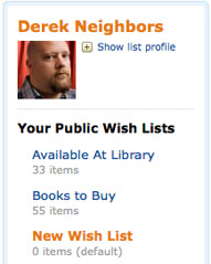 Amazon.com: Derek Neighbors: New Wish List