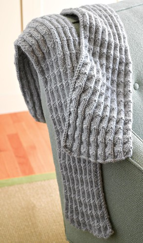 WEBS Yarn Store Blog » Free Pattern – Shale Pleated Scarf
