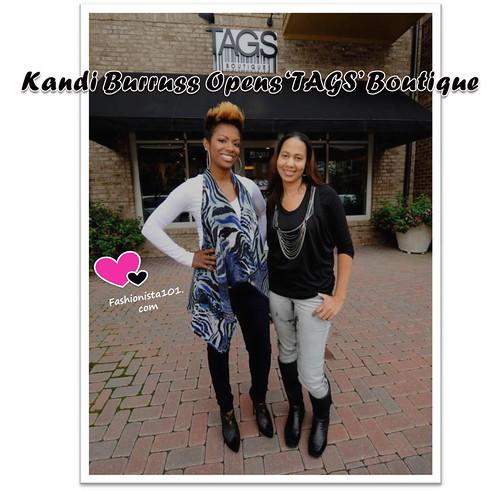 Kandi Burruss Clothing Store Website