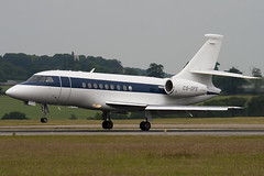 CS-DFE - 205 - Netjets Europe - Dassault Falcon 2000 - Luton - 090622 - Steven Gray - IMG_4717