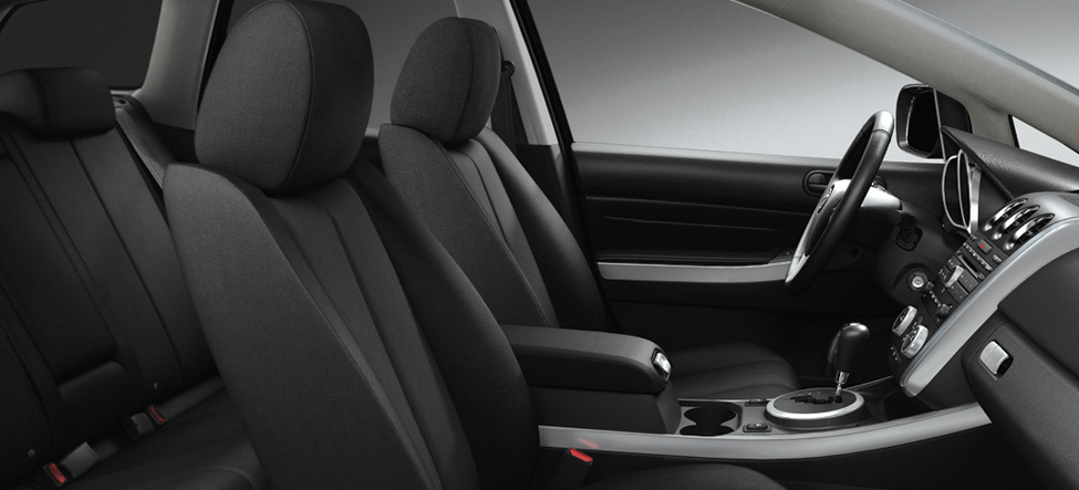 Mazda CX-7 cloth-trimmed seats