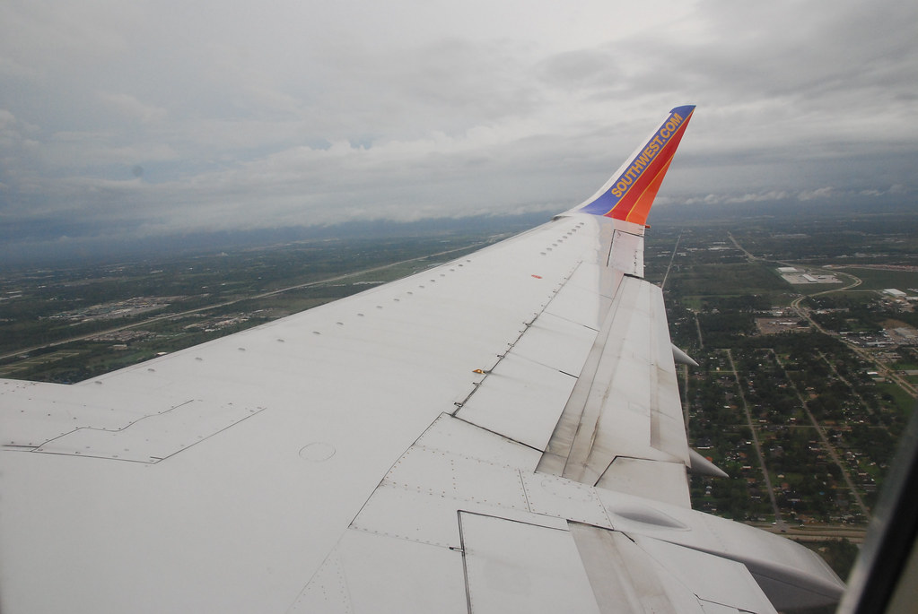 Southwest Airlines Flight from HOBBY to JAX