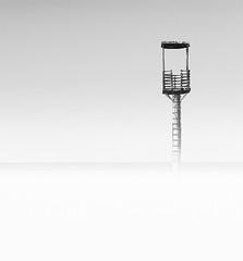 La torre de los sueos (SanchezCastillejo) Tags: torre sony bn alpha minimalismo almeria vigilancia a700 castillejo
