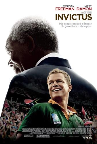 Póster y trailer de 'Invictus': Morgan Freeman es Mandela