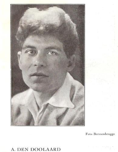 A. den Doolaard - Foto Henri Berssenbrugge - Erts 1926