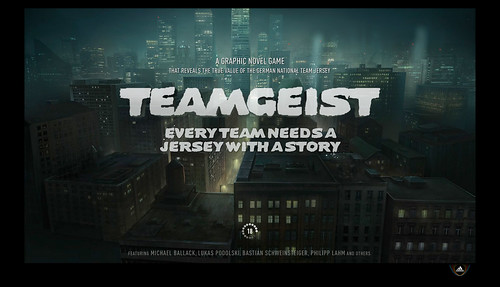 Adidas Teamgeist - Welcomescreen (screenshot)