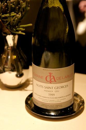 1999 Domaine de l'Arlot, Nuits Saint Georges 1er Cru
