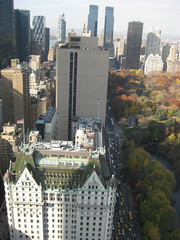 Hello Plaza Hotel (Kimberly_Lewis) Tags: nyc centralpark viewfromwork gmbuilding