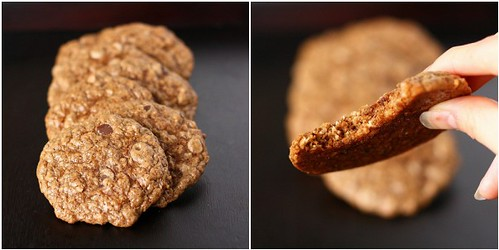 2009.11.18 Espresso Chip Oatmeal Cookies [Collage 2]