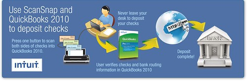 Start Skipping Bank Lines with New Check Scanning Capabilities for QuickBooks