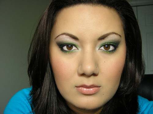 BFTE Green Smoky Eye