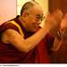 His Holiness the XIV Dalai Lama addressing the participants