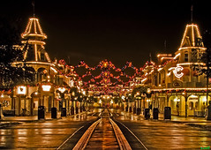 A Tranquil Christmas on Main Street, USA (Tom.Bricker) Tags: december2008 december christmas christmaslights santaclaus santa disneychristmas wdwchristmas waltdisneyworldchristmas christmasdecorations disneyworldchristmas christmas2008 disneyholidays holidays2008 holidays disneywinter winter2008 cinderellacastleicicledreamlights iciclecastle castledreamlights xmas happyholidays holidaydecorations ornaments merrychristmas lights xmaslights ledlights christmasphotography christmaseve christmasnight nighttimephotography unitedstates festive color christmascolors nikon family reindeer snow snowman noel magickingdom cinderellacastle kissgoodnight explore frontpage disneyphotochallengewinner waltdisneyworld disneyworld disney themepark florida orlandoflorida tombricker wdwfigment waltdisney wdw mickeymouse disneyphotos