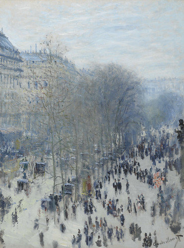 Claude Monet 1873: The boulevard des Capucines (W 293)