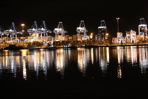 Algeciras harbour.