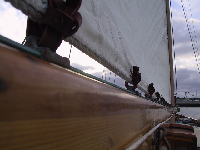 Privateer Knot on main boom