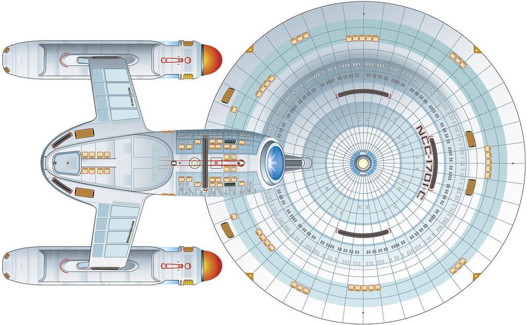 Naves más importantes de la Flota Estelar