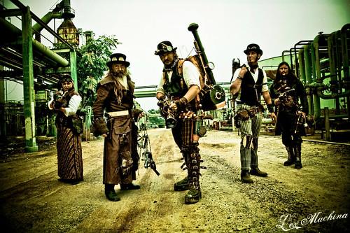 League of Extraordinary Steampunks