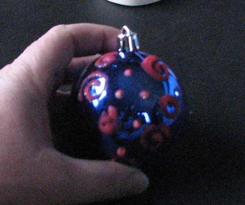 #12 - Flocked Ornaments 008