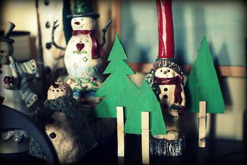 snowman forest