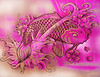 egGWHite. coi carp tattoo