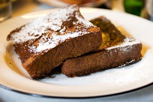 vanilla bean bourbon french toast