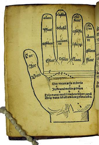Woodcut illustration in Spechtshart, Hugo, Reutlingensis: Flores musicae