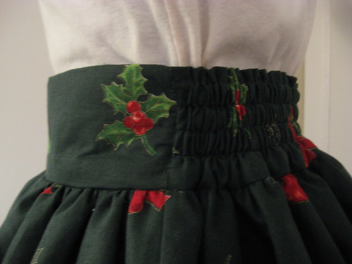 Christmas skirt 2009 010