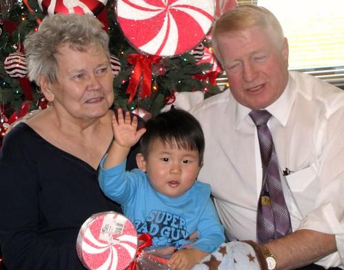 meeting great-grandma 6