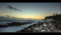 Predawn at Snapper Rocks (danishpm) Tags: ocean sea beach sunrise canon eos rocks surf australia wideangle qld aussie aus 1020mm predawn coolangatta snapperrocks sigmalens northernnsw eos450d 450d tweedshire sorenmartensen