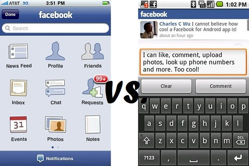 Facebook Showdown