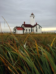 Hiking to New Dungeness Lighthouse, Sequim Washington