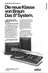 Braun 1974 Audio 308 (teddy_qui_dit) Tags: vintage advertising 60s stereo 70s braun dieterrams seventies audio publicit hifi sixties 308 usermanual