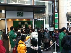 赤坂サカスのSMAPショップ(?)に行列