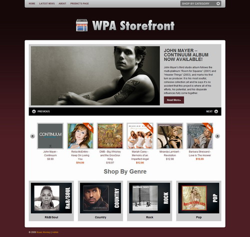 WPA Storefront   ThemeForest WordPress Theme