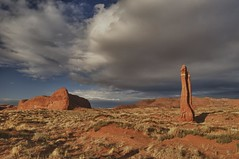 The Fort, the Sentinel and the approaching storm (Ken'sKam) Tags: arizona cloud storm nature clouds day geology stormclouds thefort thesentinel westernusa southwesternusa allnaturesparadise thefortandsentinel
