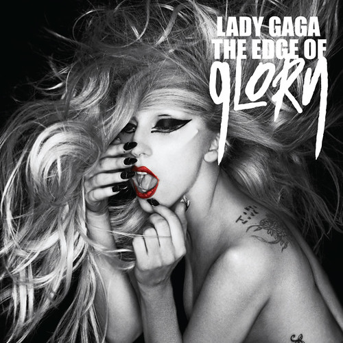 lady gaga hair cover single. Lady GaGa - The Edge of Glory