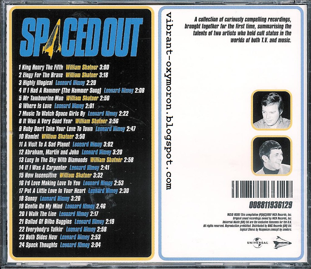 Spaced Out - The Very Best of Leonard Nimoy and William Shatner
