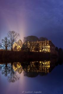 L'abbaye de Paimpont en Brocéliande
