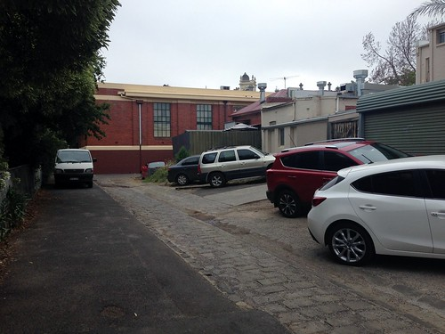 Car parking behind Maling Road, Canterbury