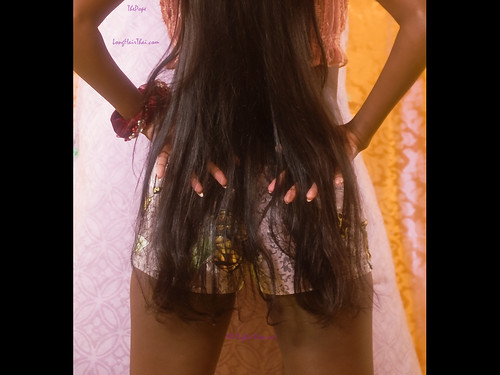 Thai long hair in flat tits 8