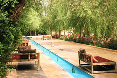 Garden Green (**El-Len**) Tags: travel green garden freedom paradise iran politics persia yazd qanat fav10 greenmovement