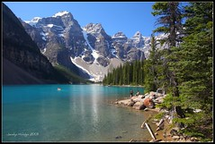 "Moraine Lake in the Valley of the Ten Peaks. Banff National Park, Alberta, Canada (Joalhi ""Back in Miami"") Tags: canada alberta banffnationalpark morainelake valleyofthetenpeaks naturesfinest abigfave theunforgettablepictures vosplusbellesphotos"