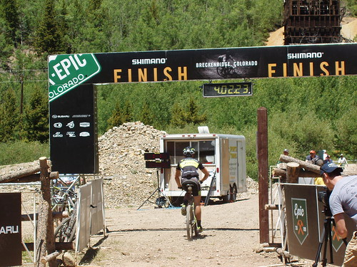 Breck-Epic: Mt Guyot finish