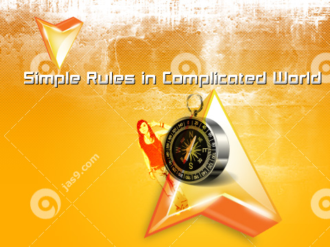 Simple Rules in Complicated World