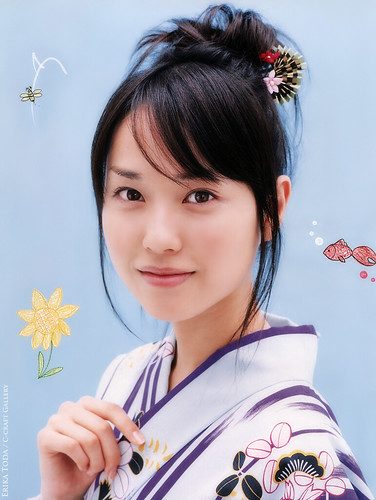 YUKATA 戸田恵梨香 Erika Toda by g2slp